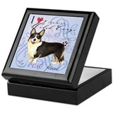 Cardigan Welsh Corgi Keepsake Box