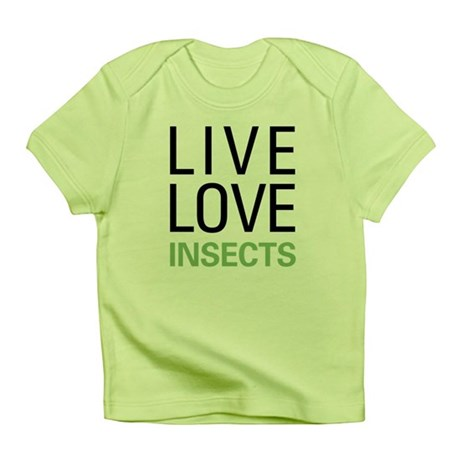 Live Love Insects Infant T-Shirt