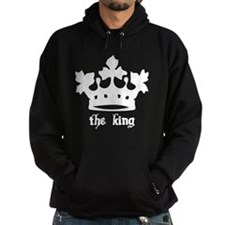 Medieval King Black Crown Hoodie