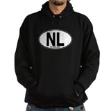 Netherlands Euro Oval (plain) Hoody