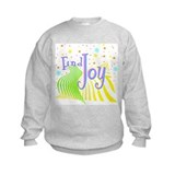"""Find Joy sparkel"" Sweatshirt"