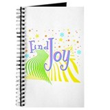 """Find Joy sparkel"" Journal"