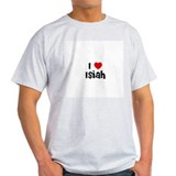 I * Isiah Ash Grey T-Shirt