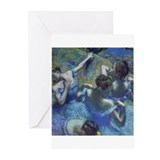 Edgar degas Greeting Cards (Pk of 10)