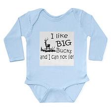 BIG Bucks Long Sleeve Infant Bodysuit