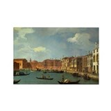 Cute Gondolier Rectangle Magnet (10 pack)