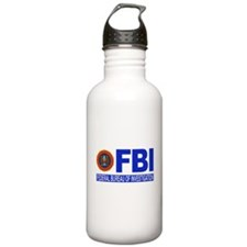 FBI Federal Bureau of Investigation Water Bottle