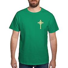 Celtic Gold Cross T-Shirt