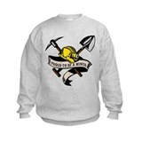 coal miner mining Sweatshirt