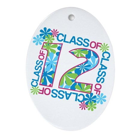 Class 2012 Blossoms Ornament (Oval)
