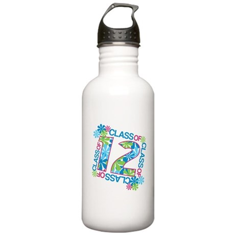 Class 2012 Blossoms Stainless Water Bottle 1.0L