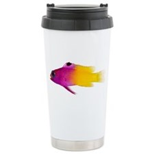 Gramma Loreta Adult Fish Ceramic Travel Mug