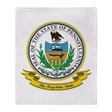 Pennsylvania Seal Throw Blanket