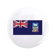 "Falklands Flag 3.5"" Button (100 pack)"
