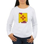 ILY New Mexico Women's Long Sleeve T-Shirt