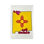 ILY New Mexico Rectangle Magnet (10 pack)