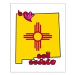 ILY New Mexico Small Poster
