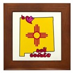 ILY New Mexico Framed Tile