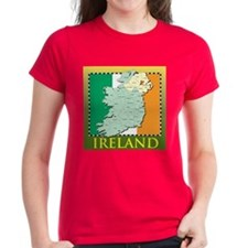 Ireland Map and Flag Tee