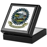 South Dakota Seal Keepsake Box