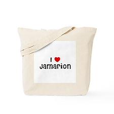 I * Jamarion Tote Bag