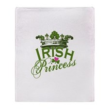 Irish Princess Throw Blanket