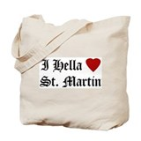 Hella Love St. Martin Tote Bag