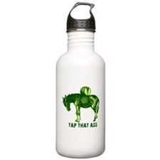 Tap That Ass Funny T-shirts Water Bottle