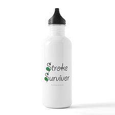 Stroke Survivor - Green Water Bottle