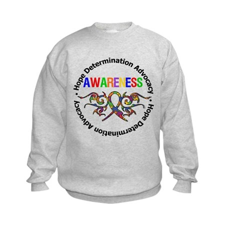 Autism Hope Awareness Kids Sweatshirt