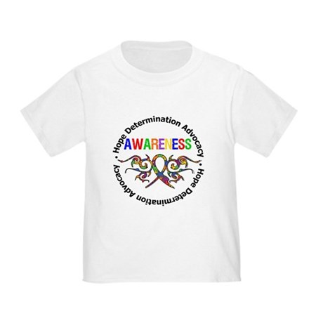 Autism Hope Awareness Toddler T-Shirt