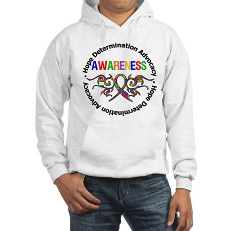 Autism Hope Awareness Hooded Sweatshirt