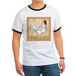Gold Framed Rooster Ringer T
