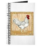 Gold Framed Rooster Journal