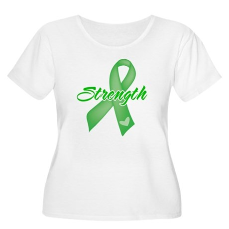 Strength - Bile Duct Cancer Women's Plus Size Scoo