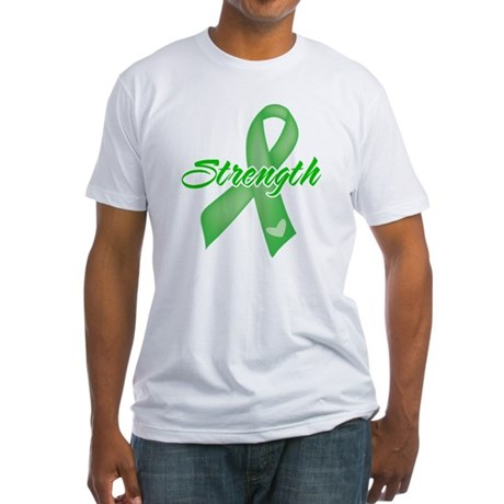 Strength - Bile Duct Cancer Fitted T-Shirt