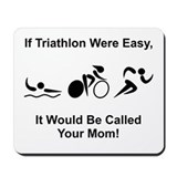 Triathlon Mom Mousepad