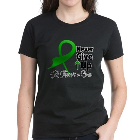 Bile Duct Never Give Up Women's Dark T-Shirt