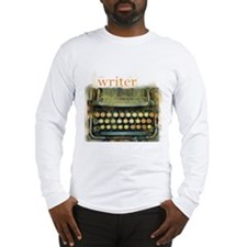 typewriter writer Long Sleeve T-Shirt