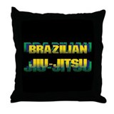 Jiu-Jitsu Throw Pillow