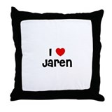 I * Jaren Throw Pillow
