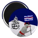 Krampus for Obama Magnet