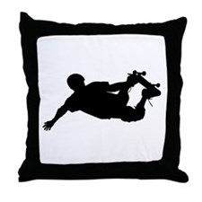 Extreme Skateboarding Throw Pillow