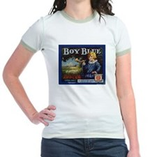 Boy Blue Apples Jr. Ringer T-Shirt