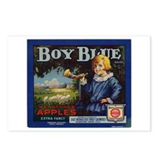 Boy Blue Apples Postcards (Package of 8)