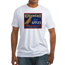 Cottontail Apples Fitted T-Shirt