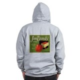 Jim Dandy Apples Zip Hoodie