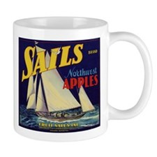 Sails Brand Northeast Apples Mug