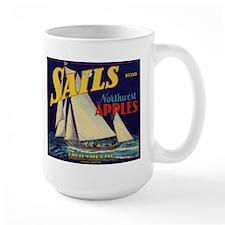 Sails Brand Northeast Apples Large Mug