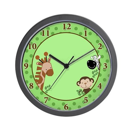Jungle Adventure Safari Wall Clock